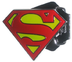 comics superman classic logo belt buckle
