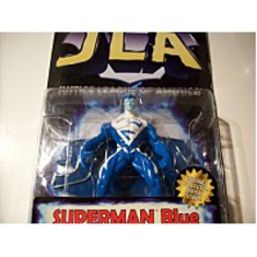 Blue Action Figure