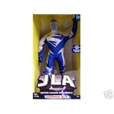 Dc Comic Blue Poseable Action Figure