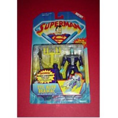 Superman Evil Alien Brainiac Figure