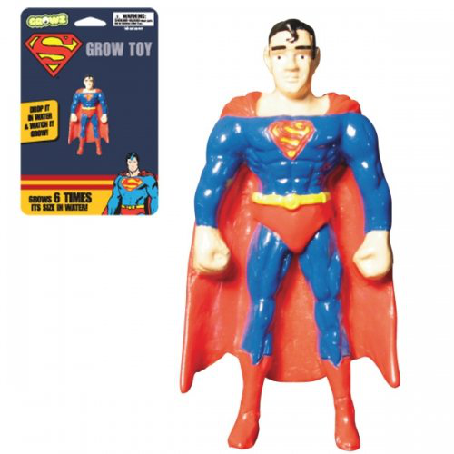 Superman - Grow Toy (grows Up To 6 Times Its Size In Water)